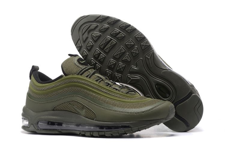 cheap for discount 42c9b a8336 New 2018 2017 Winter Fall Nike Air Max 97 Olive Green