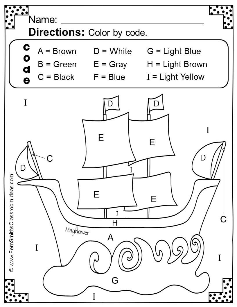 Thanksgiving Fun! Letters and Numbers - Color Your Answers Printables! TEN No Prep Printables that can be used for your reading or math center, small group, RTI pull out, seat work or homework. #TPT $Paid
