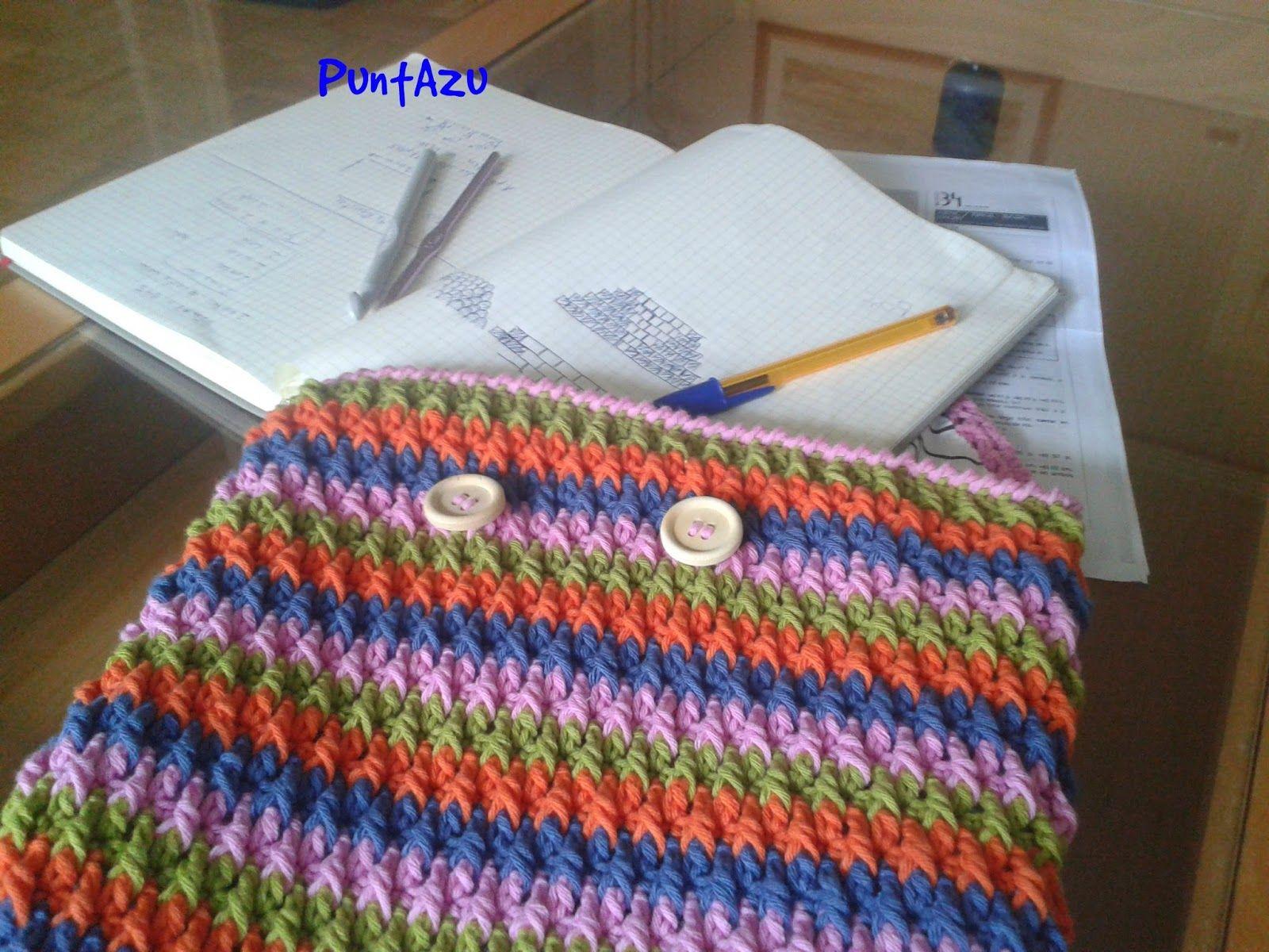 Funda del día del libro.. patrón gratis | crochet | Pinterest | El ...