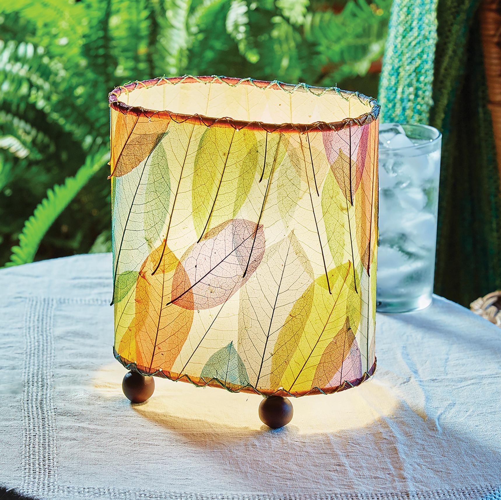 Eangee Guyabano Multi Color Mini Uplight Accent Table Lamp In 2020 Lamp Table Lamp Accent Table