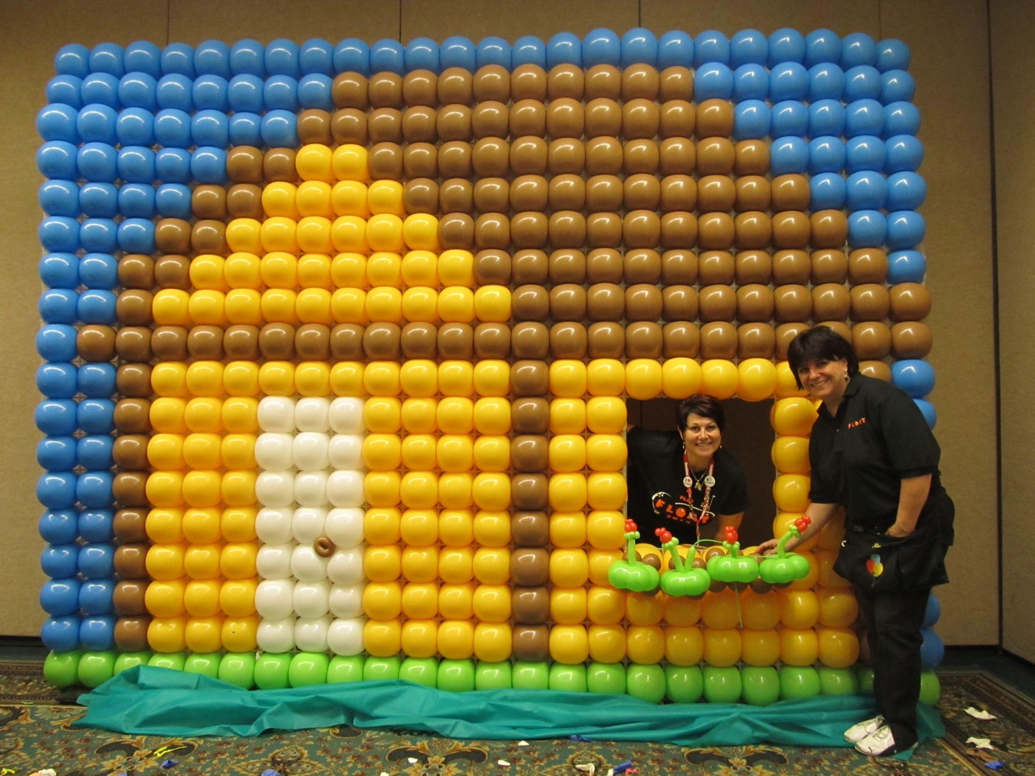 www.partyplanetballoondecor.com   gridz   Pinterest   Balloon wall ...