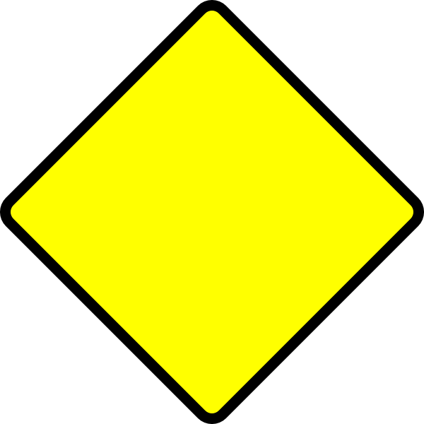 Blank Street Signs Blank Road Sign Clip Art Construction Signs