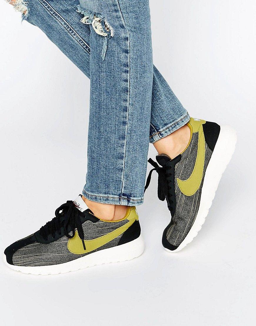 best loved 6ed73 e7e07 Image 1 of Nike Roshe LD 1000 Trainers In Khaki