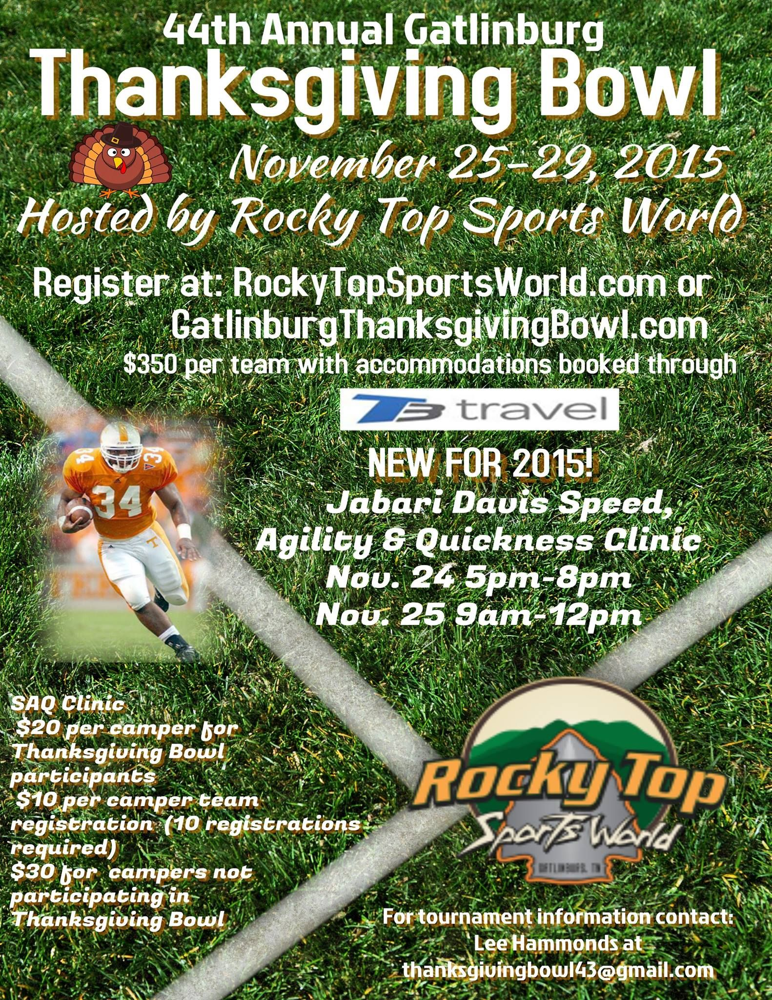 It's Football Time in Tennessee! Register for the