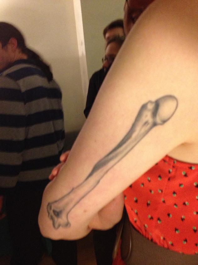 Humerus Bone Tattoo Google Search Tattoo Anatomical Tattoos
