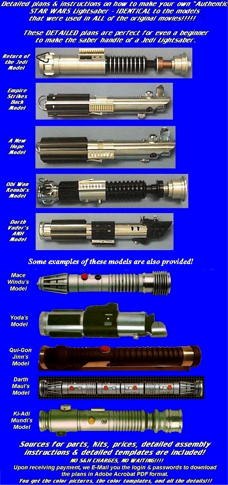 Lightsaber Hilts Global Federation Of Geeks Gfog Star Wars Toys
