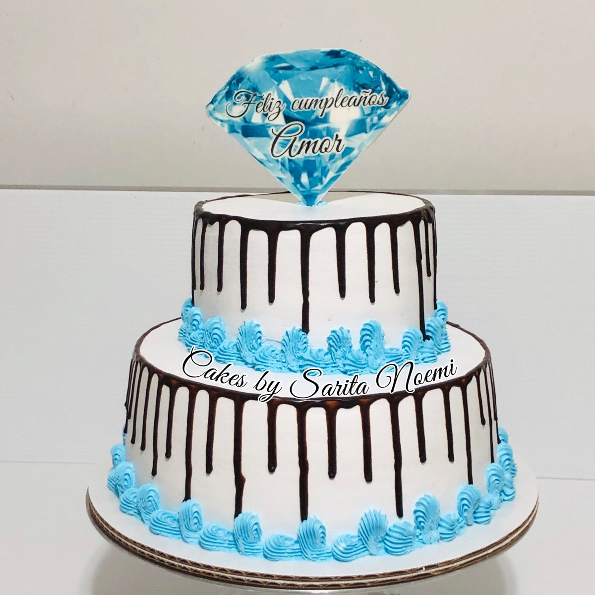 Pastel Para Hombre De Dos Pisos 2 Tier Cake For Man