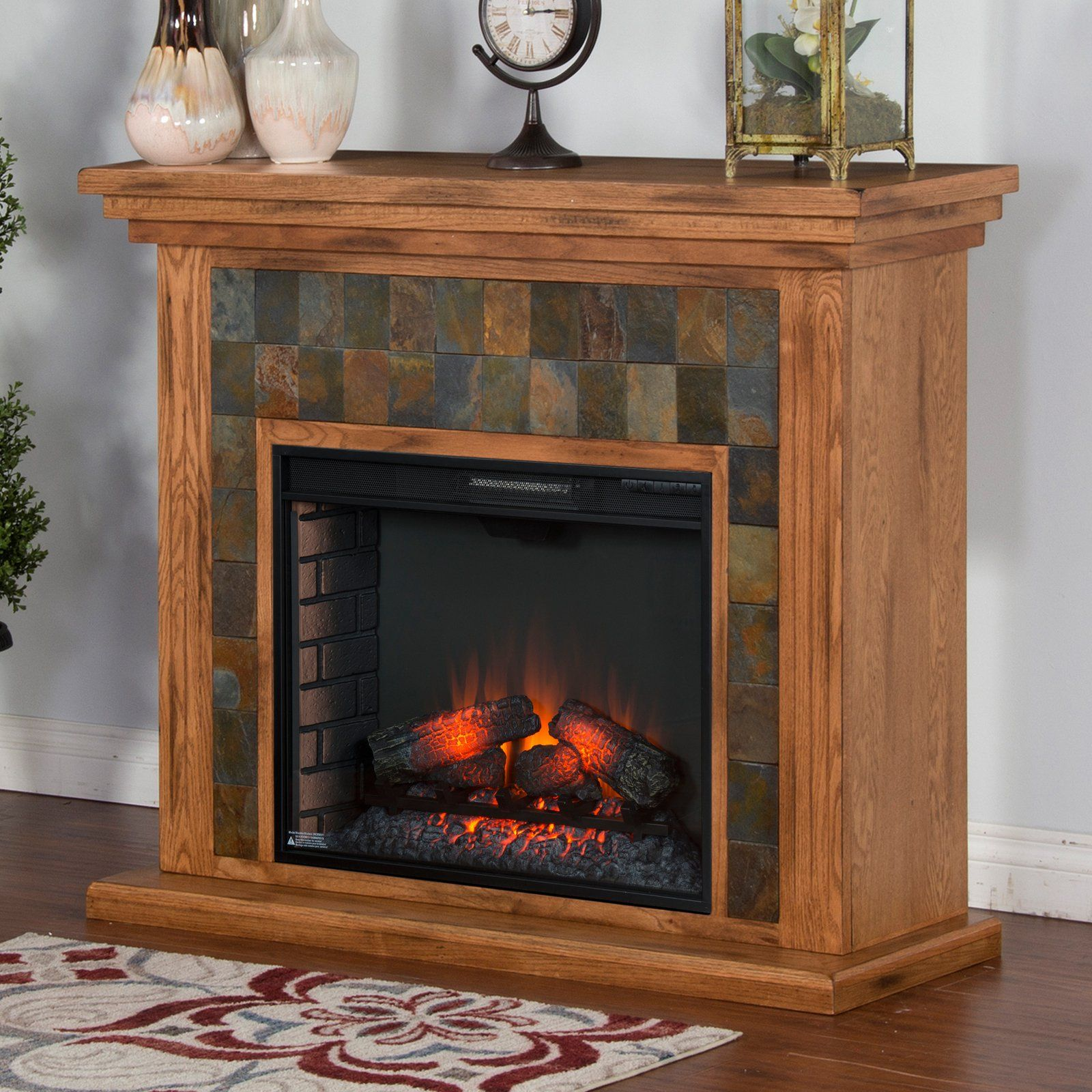 Sunny Designs Sedona 50 In Electric Fireplace Media Console