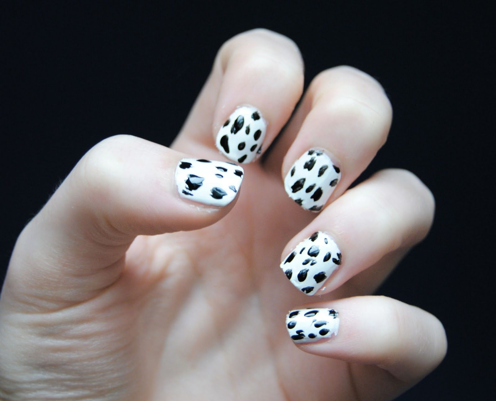 Dalmatian Nails | Fashion | Pinterest | Dalmatian