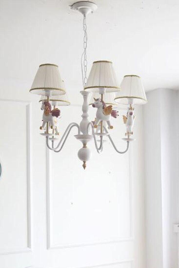 Merry Go Round Chandelier Kids Room Lighting Rustic Floor Lamps