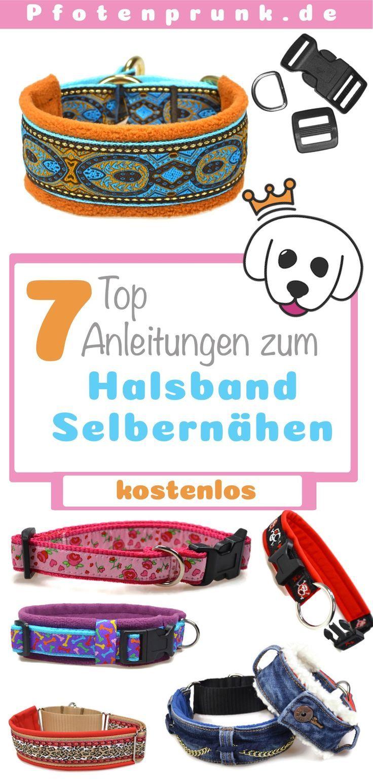 DIY – Hundehalsband Nähen – ♥ Pfotenprunk DIY – Anleitungen für Hunde (Hundehalsband, Geschirr, Leine, Basteln, Nähen, Betten, Halsband) – Nähen