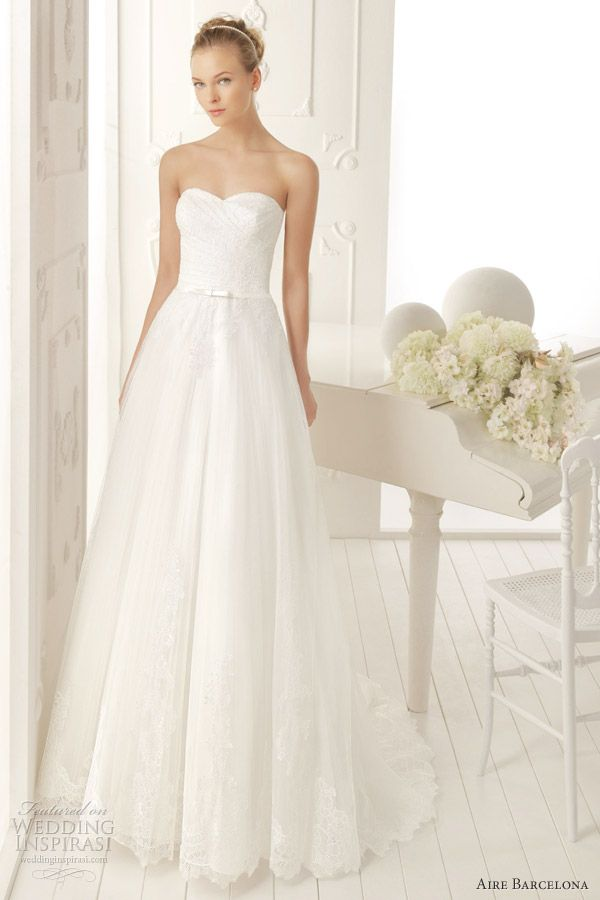 Aire Barcelona Wedding Dresses 2013 — Aire Vintage Bridal Collection