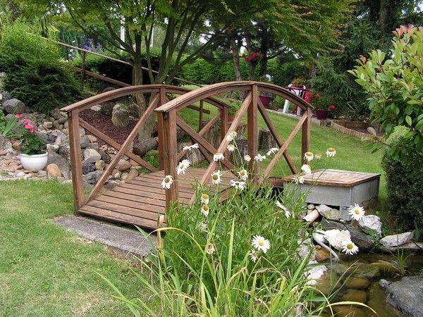 Pont De Bois Pont De Jardin Ambiance Jardin Et Pont