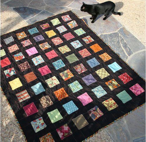 Free Patterns Using Charm Squares Tutorial: Screamless quilt ? Quilting CraftGossip.com ...