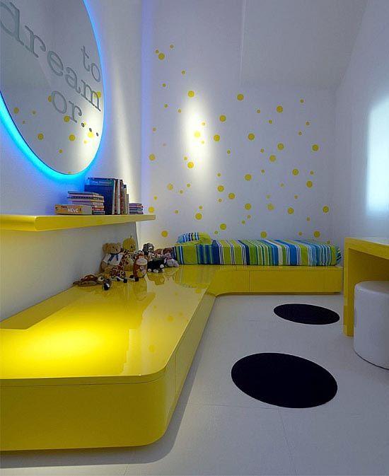 Design Dilemma Monochromatic Rooms Yellow Bedroomssmall