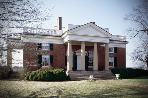 Upper Bremo Plantation Is A Plantation Estate On The West Side Of