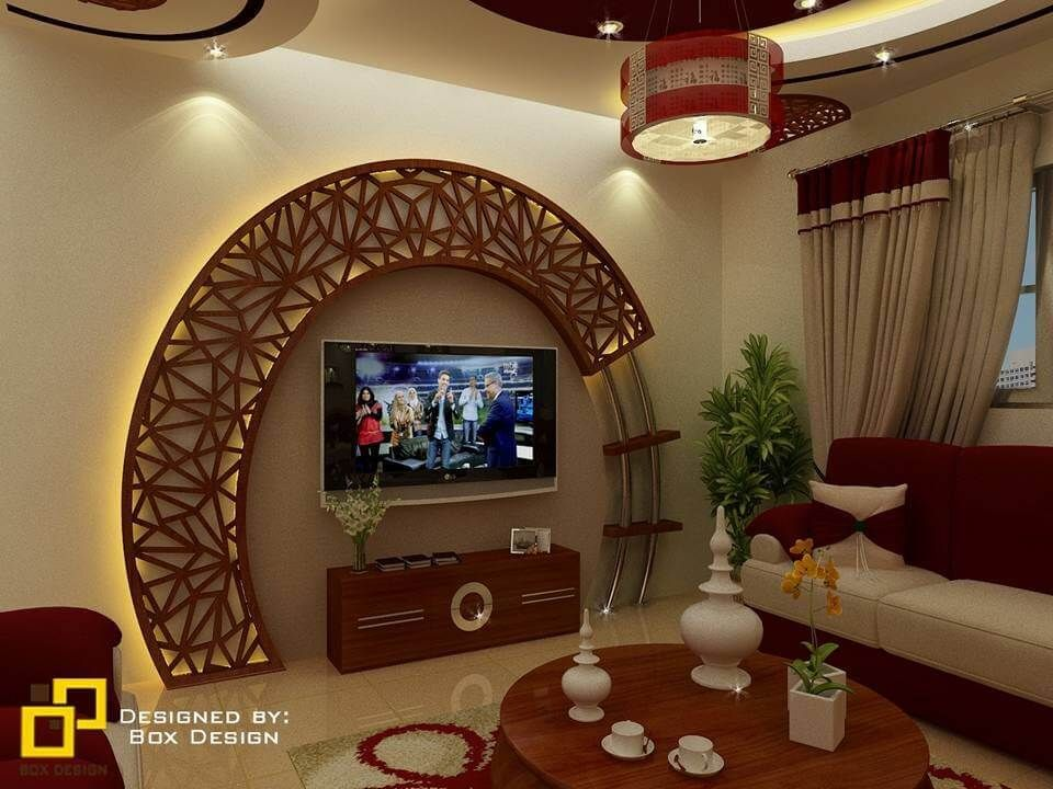 Modern Gypsum Tv Wall Unit Decoration Design Ideas Engineering Discoveries In 2020 Ceiling Design Bedroom Home Decor Living Room And Kitchen Design