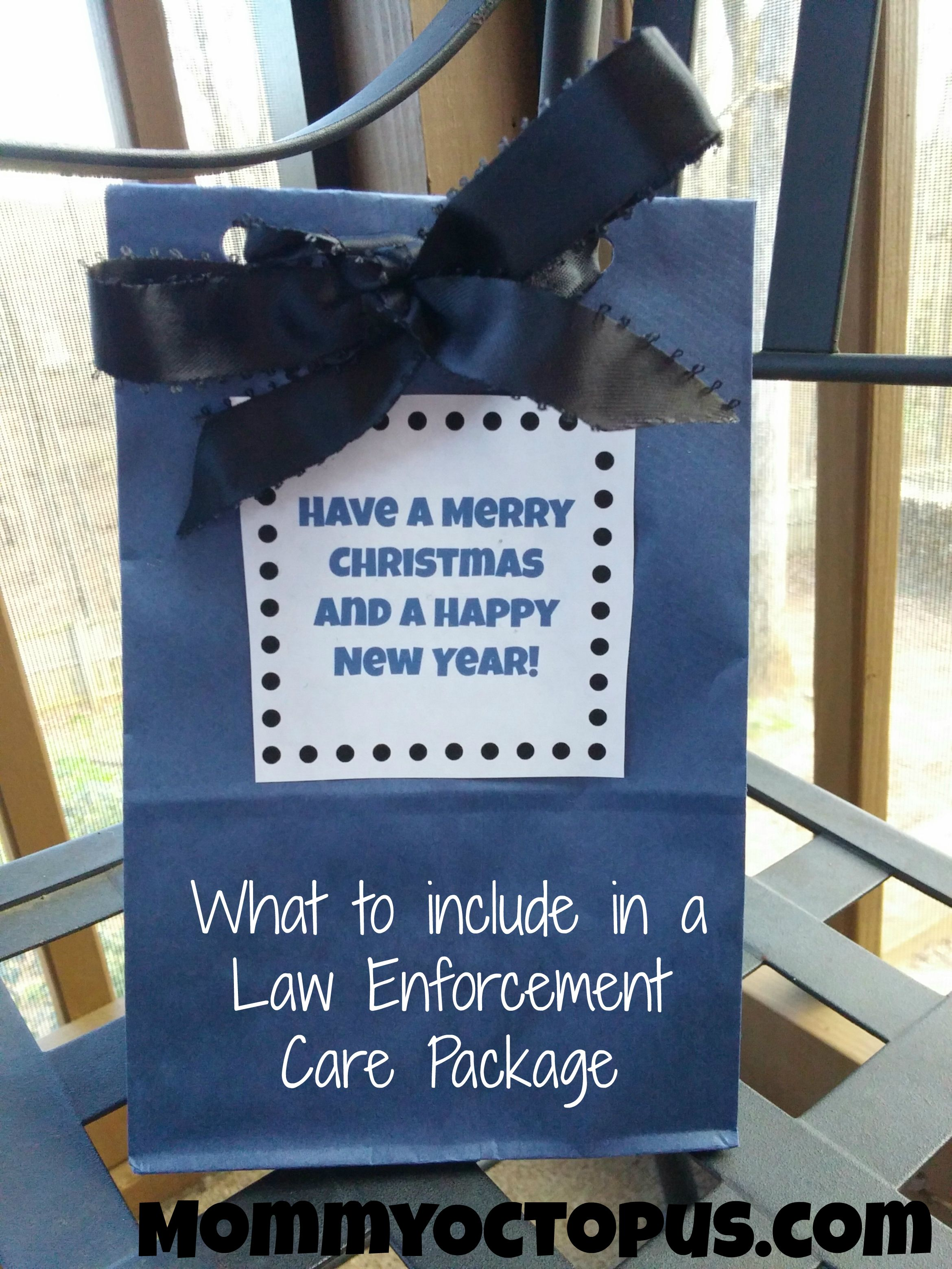 What to include in a Law Enforcement Care Package Christmas Gifts For Family Inexpensive Creative & What to Include in Law Enforcement Care Package