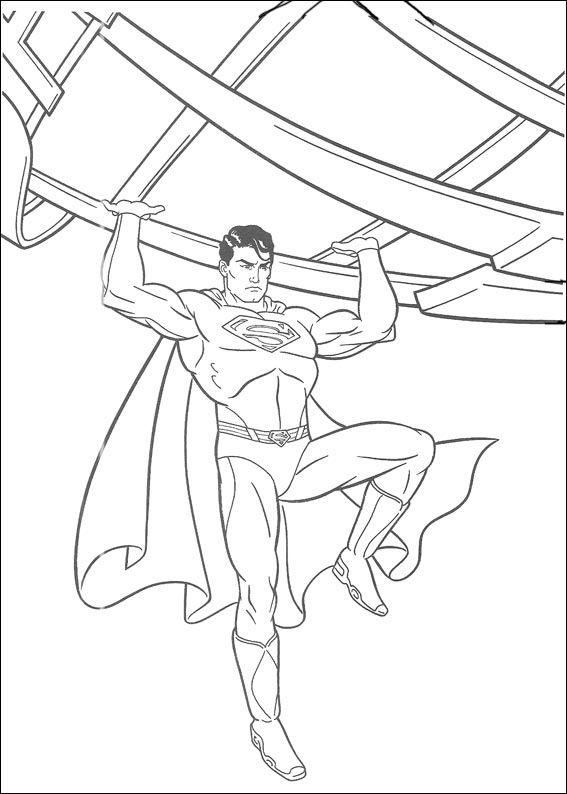 dibujos para colorear superman 31  spiderman dibujo para