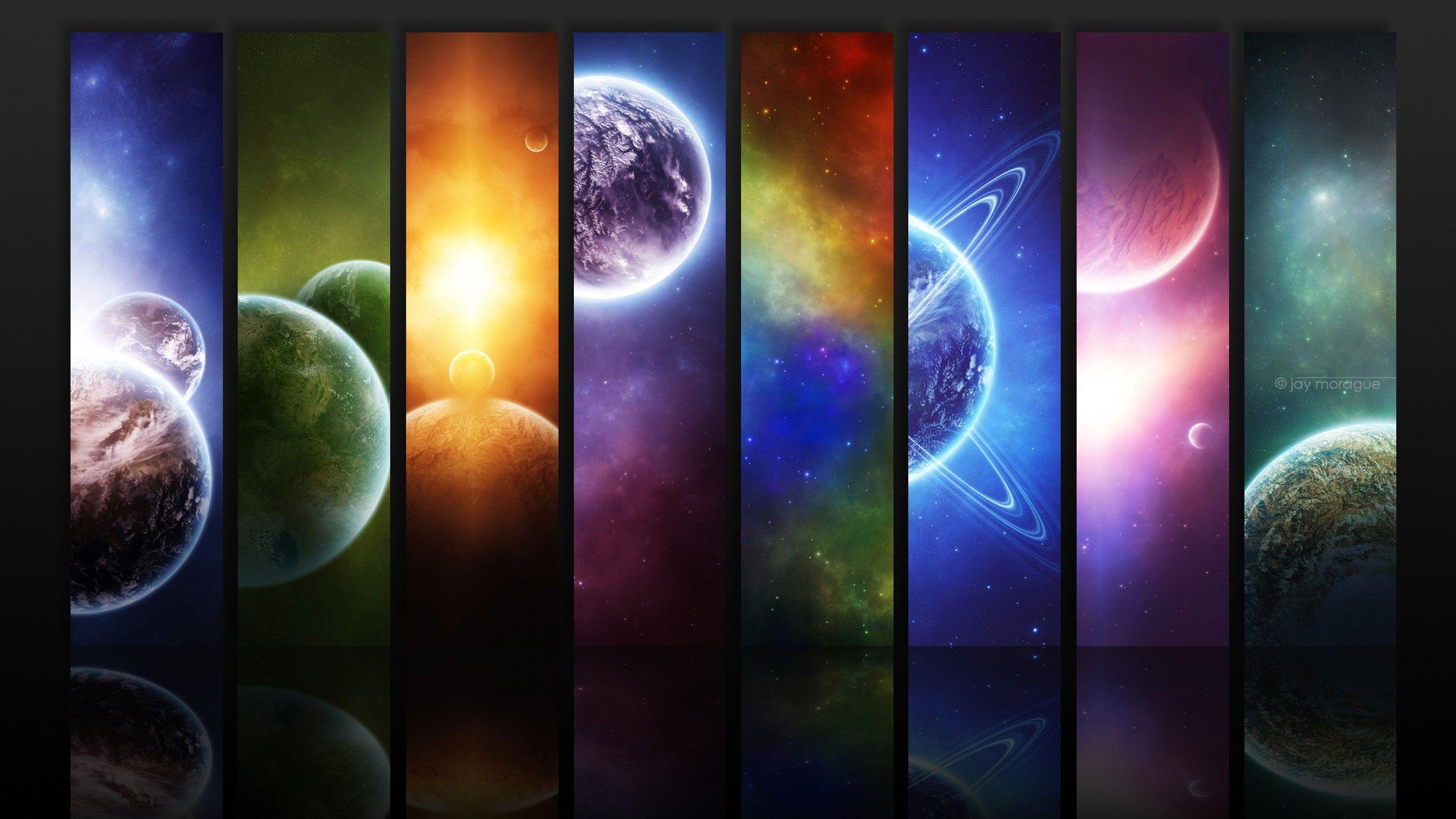 2560 X 1440 Wallpaper Pesquisa Google Peinture Galaxie