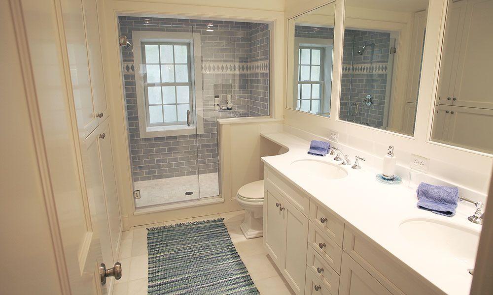 Cross Rip Builders Bathroom Love Pinterest Blue gray bathrooms