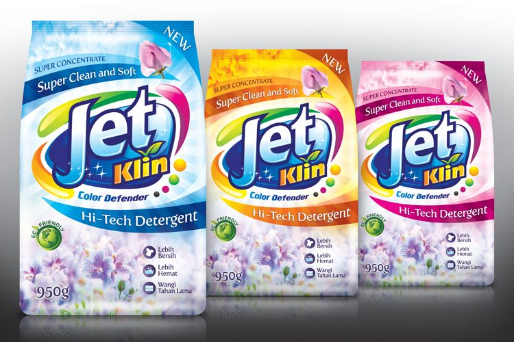 Jeta Laundry Detergent Natural Cleaning Supplies Packaging
