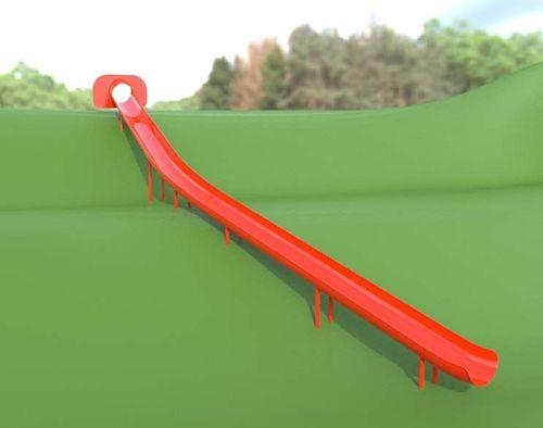Aluminum Trough Chute Slide For 8 Foot Deck Height Fun Pinterest