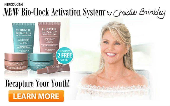 Recapture 360 Reviews Christie Brinkley Skin Care Products Christie Brinkley Skin Care Anti Aging Skin Care Remedies Anti Aging Cream