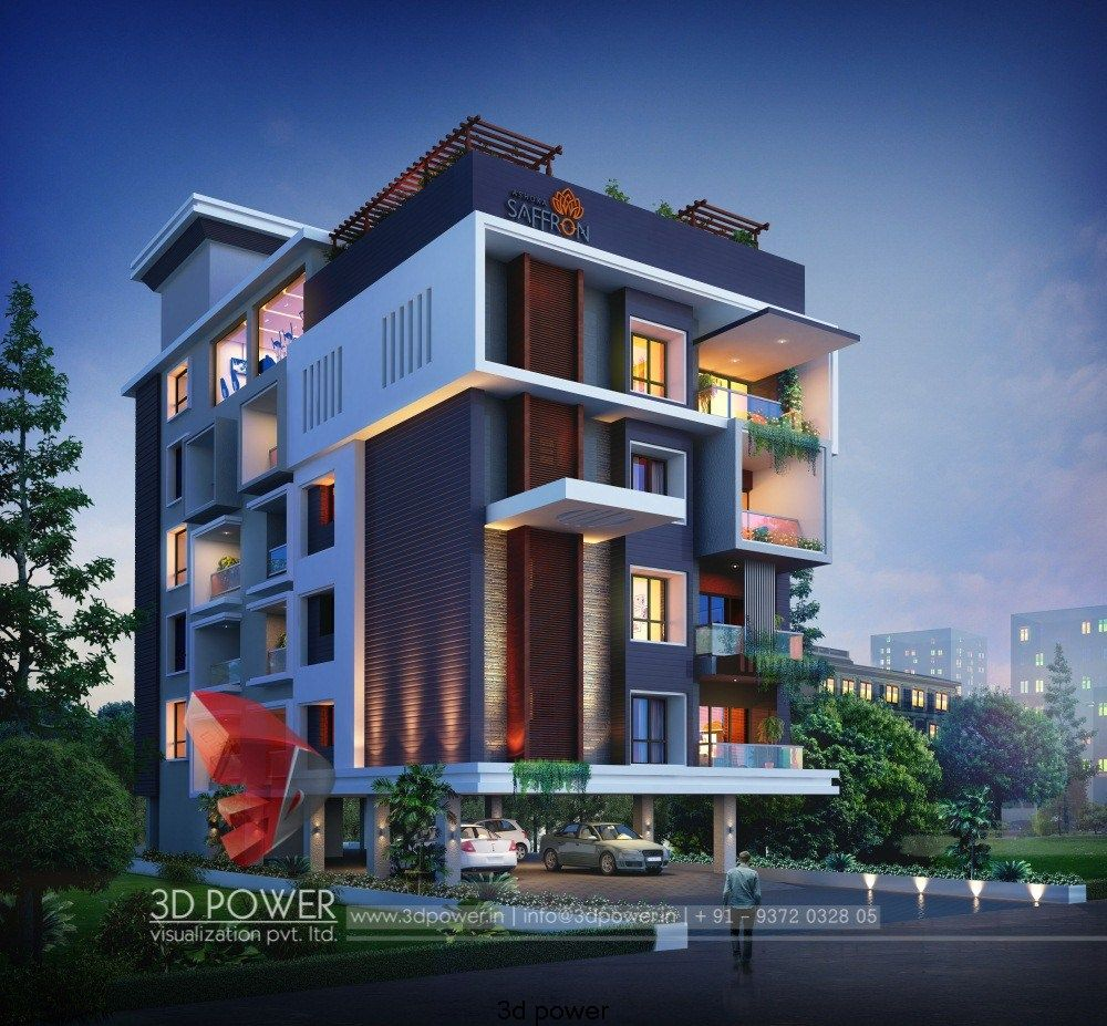 Small House Elevation Design House Elevation: Best 3d Architectural Rendering For Apartment