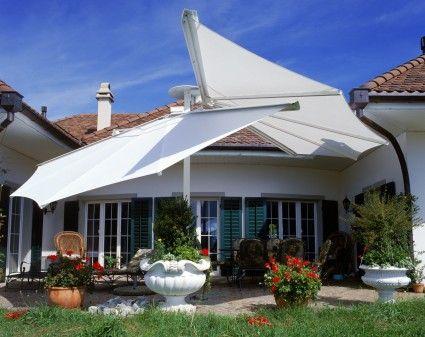 Moderne Markisen fächer markise markisen terrassendächer leben im freien