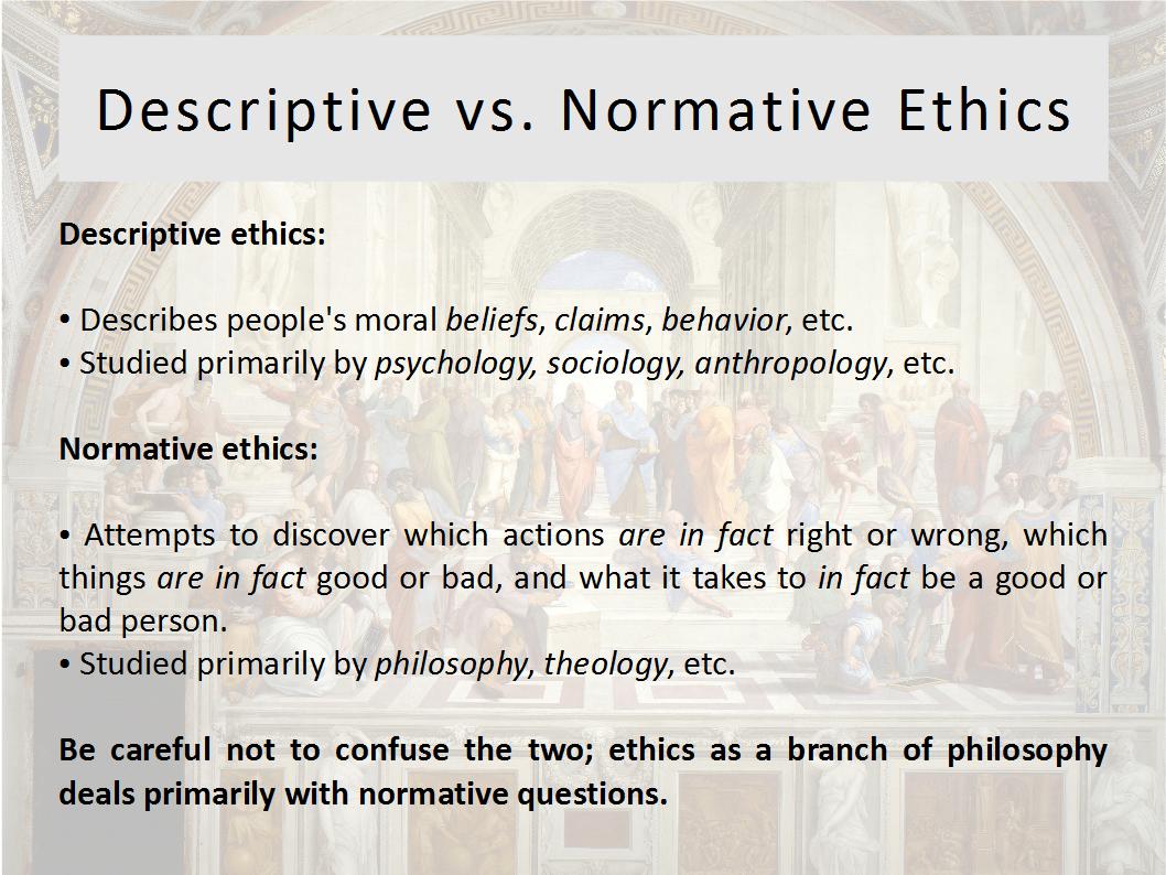 Ethics Psychology Philosophy