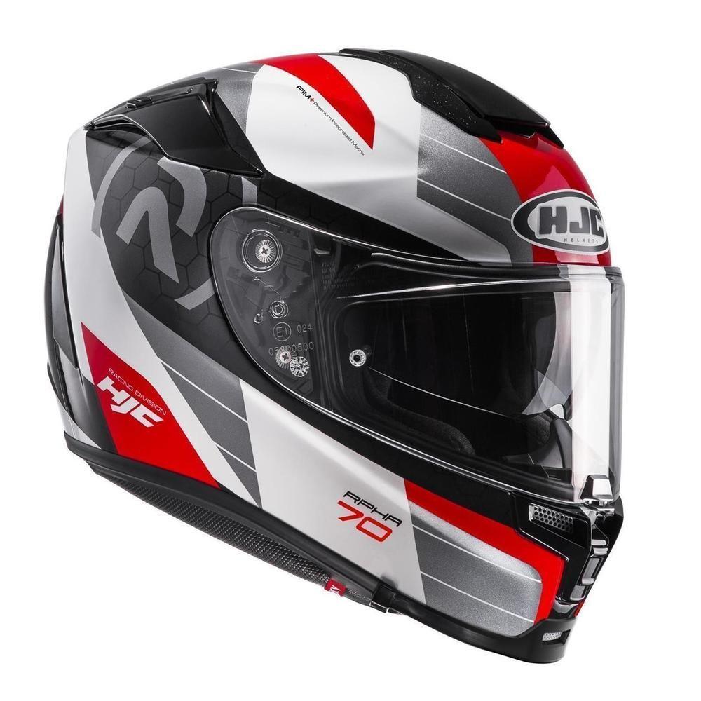 HJC Motorradhelm RPHA 70 Vias Rot