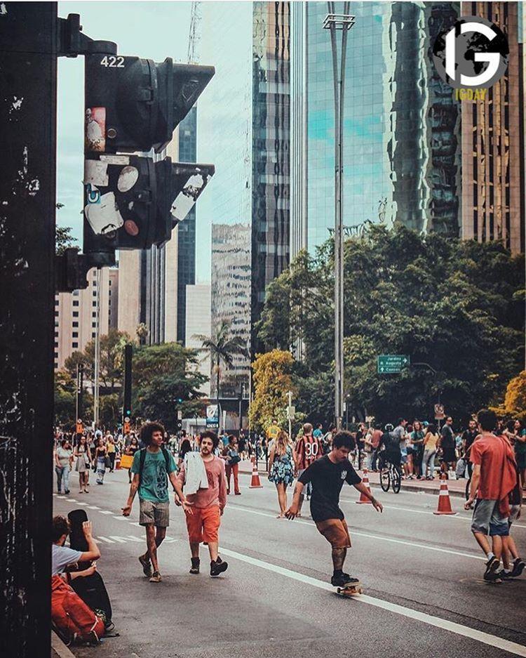 Av. Paulista, São Paulo - Brasil #sãopaulo #brazil #brasil #sao #paulo #são #san #sanpaolo
