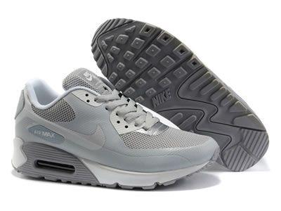 air max 90 grigio bianco