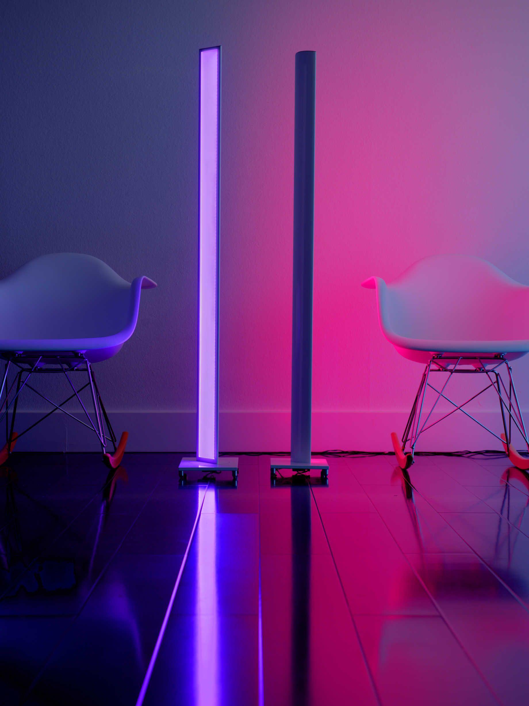 Koncept Tono White Led Floor Lamp In 2020 Led Floor Lamp Floor Lamp Light Backdrop