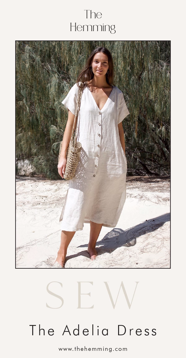 Photo of The Adelia Dress – Sewing Pattern | The Hemming