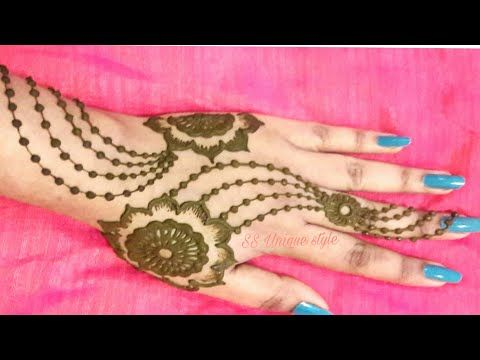 Simple and stylish mehndi designs for hands ss unique style youtube also rh in pinterest