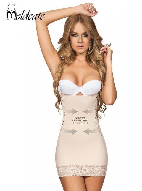 000c96eae0 MOLDEATE Full Slip Shapewear 13001. Short dress body shaper.