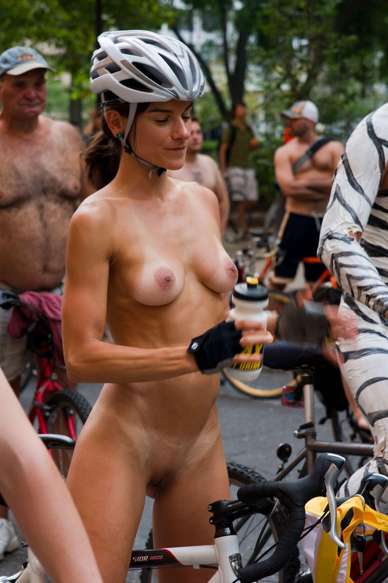 Bike girls nude World Naked