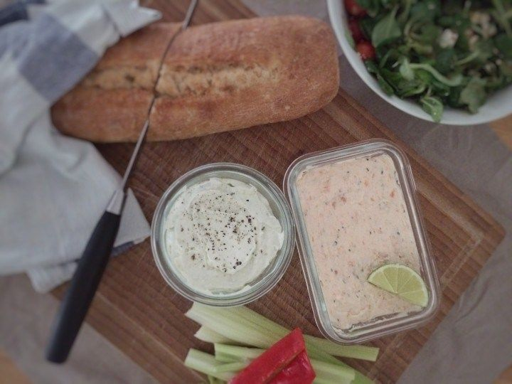 Our favorite dips! Easy and fast to make. Perfect for an appetizer plate.
