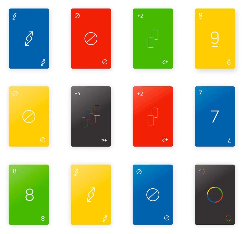 Ce Designer Imagine Un Nouveau Design Minimaliste Pour Le Jeu De Cartes Uno En 2020 Jeu De Cartes Jeux Jeu De Cartes Uno