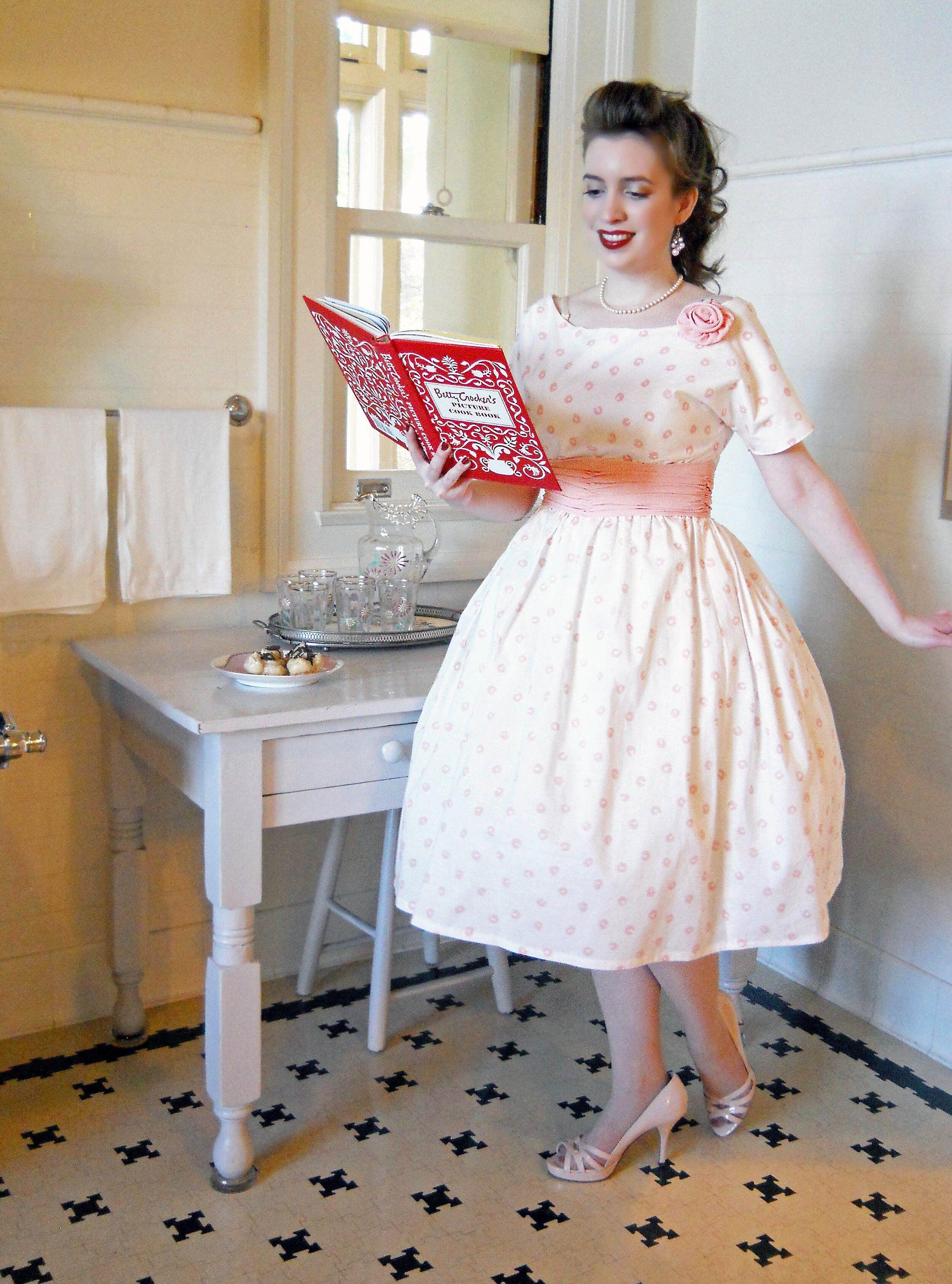 Ladies 1958 Party Dress Pattern Sense Sensibility Patterns Party Dress Patterns Fashion Dresses [ 3369 x 2500 Pixel ]