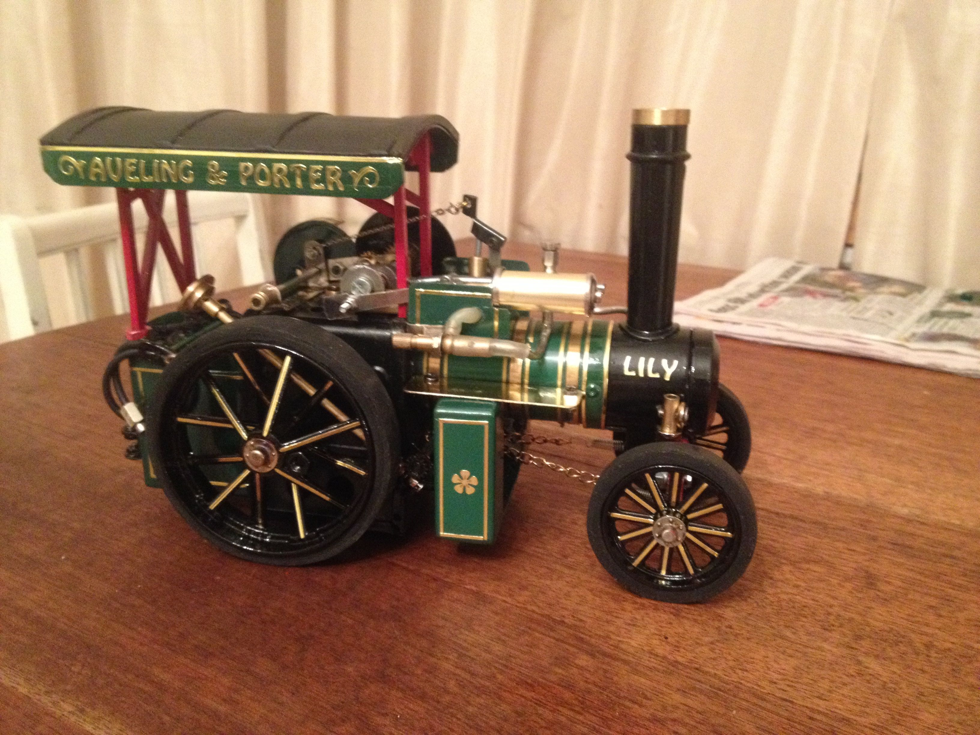 Mamod Aveling And Porter Traction Engine Live Steam Mamod Model