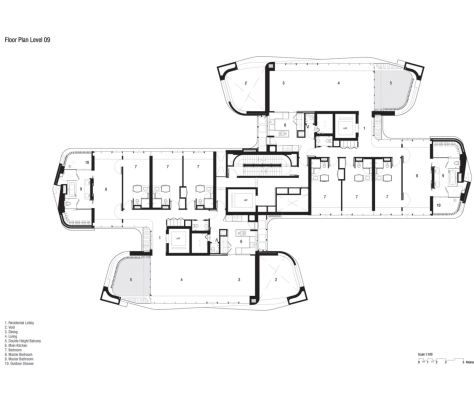 Ardmore Residence By Unstudio Residential Building Plan Tropical Architecture Ardmore