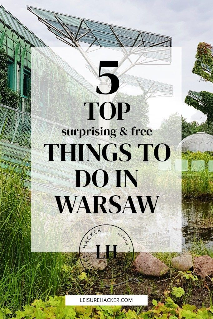 5 top surprising (free) things to do in Warsaw