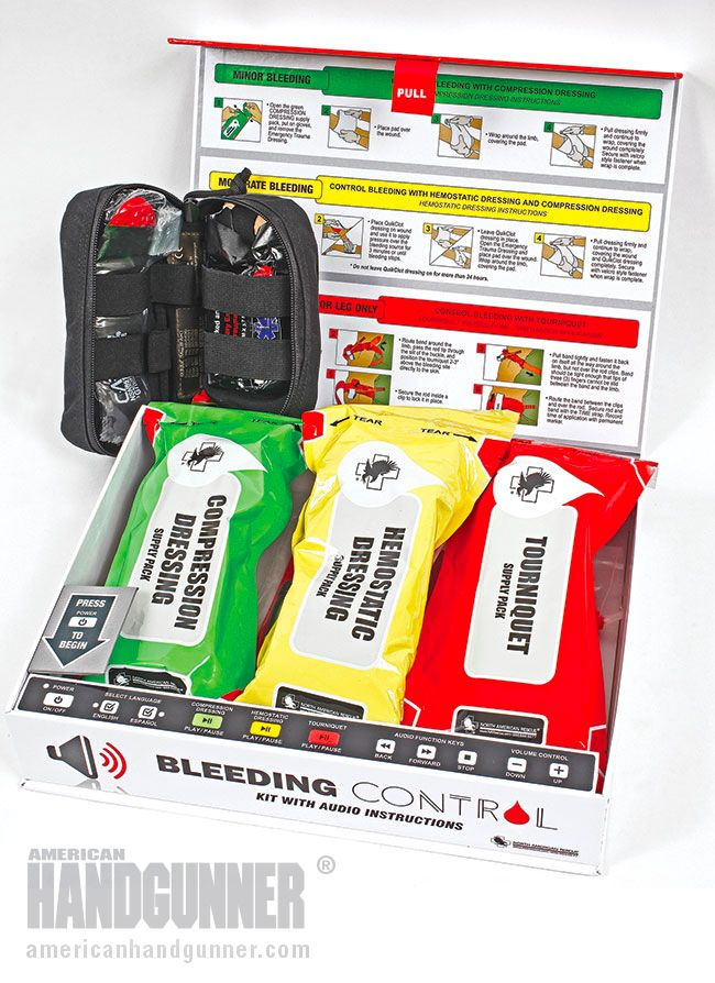 Bleeding Control Kit By Roy Huntington When I first saw this