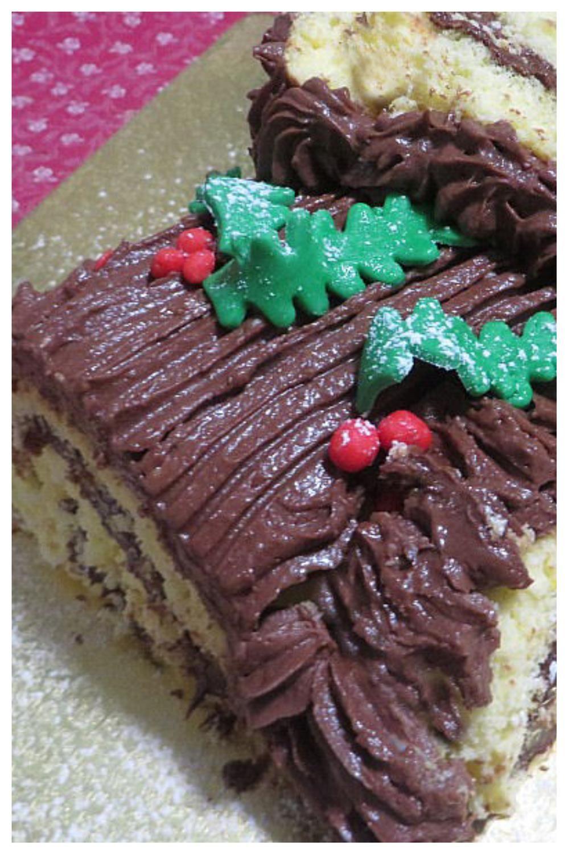 Ricetta Tronchetto Di Natale Senza Glutine.Tronchetto Di Natale Senza Glutine