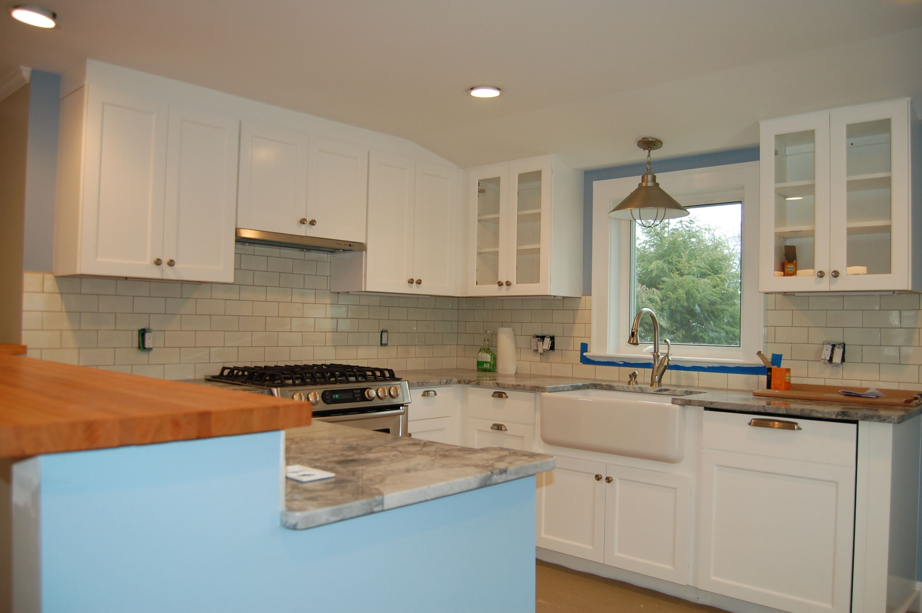 Bgb projects kitchen renovation completed on 1940 s cape Cape cod style kitchen design