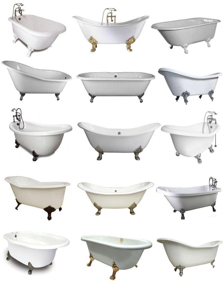 The Iconic Clawfoot Tub. Footed Tubs, Reminiscent Of A More Simple Time,  Are A Sought After Addition To Even Modern Bathrooms. Grandeur And  Indulgence Of A ...