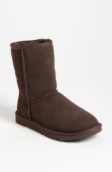 Ugg Brown Classic Short Boot Women